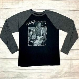 Jimi Hendrix Long Sleeve Authentic T-Shirt
